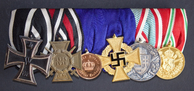 WW1 German group of 6 medals