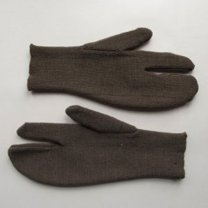 WW2 BRITISH ARMY SHOOTING GLOVES/MITTENS SNIPER
