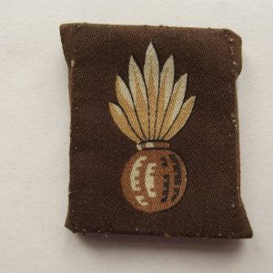 WW2 ROYAL ENGINEERS PRINTED SLEEVE GRENADE