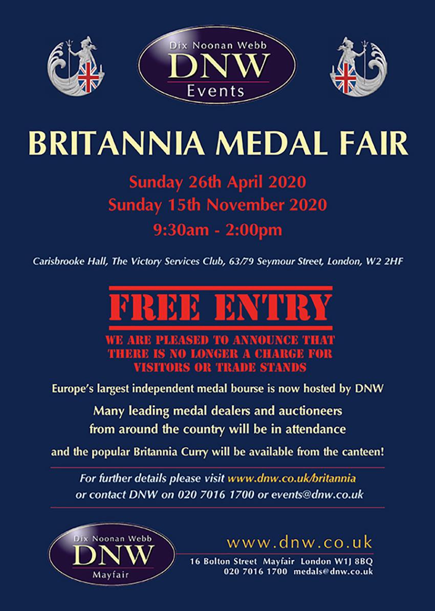 Britannia Medal Fair
